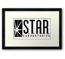 STAR Laboratories - reverse Framed Print