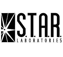 STAR Laboratories - reverse Photographic Print