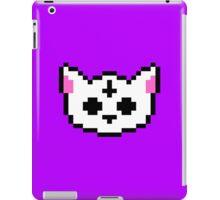 PIXEL - Satanic chibi cat iPad Case/Skin