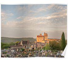 Chateau Beynac Poster