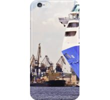 passenger ferry to the port iPhone Case/Skin