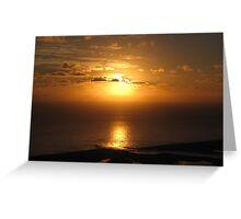 Sebastian Inlet Sunrise  Greeting Card