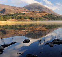 Reflections, Strath Suardal, Isle of Skye by Karen Thorburn