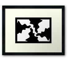 1 Frustrated Puzzle By Chris McCabe - DRAGAN GRAFIX Framed Print