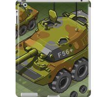 Isometric Tank Two Version iPad Case/Skin