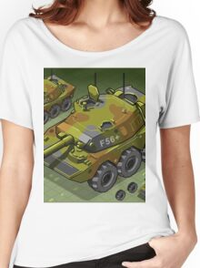 Isometric Tank Two Version Women's Relaxed Fit T-Shirt