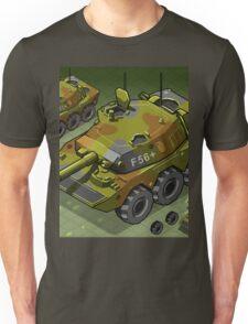 Isometric Tank Two Version Unisex T-Shirt