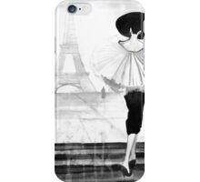 Date in Paris iPhone Case/Skin