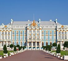 The Catherine Palace is the Baroque style, Tsarskoye Selo (Pushkin). by bashta