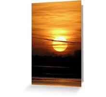 Sunrise (5) 25-11-07 Greeting Card