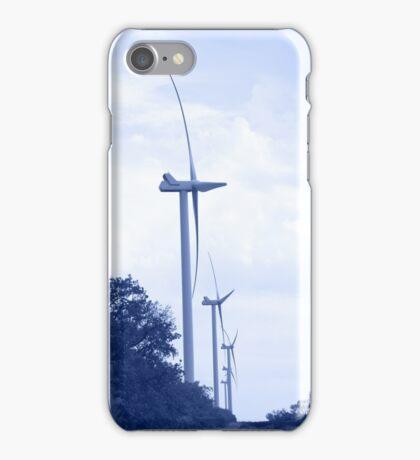 Wind energie. Toned. iPhone Case/Skin