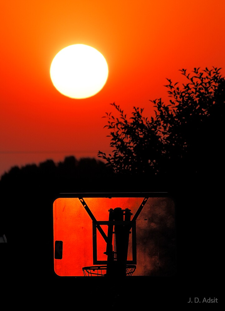 Three Point Sunset by J. D. Adsit