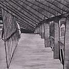 Footbridge by Joan Wild