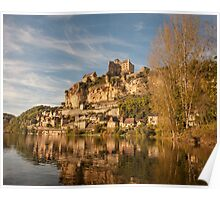 Chateau Beynac from the river Poster
