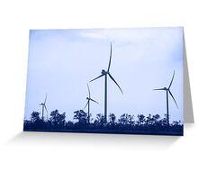Wind energie. Greeting Card