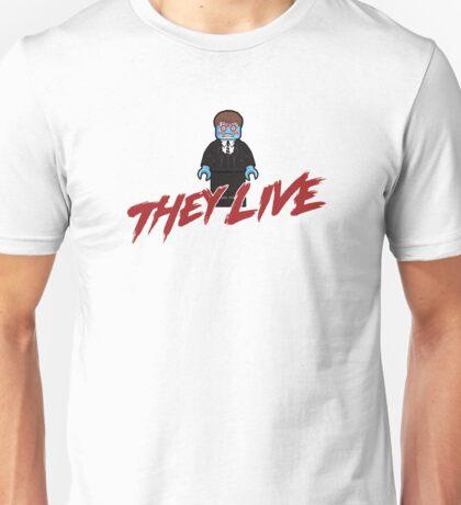 THEY LIVE  - T-SHIRT - OBEY - CONSUME - WATCH TV - WORK - REPRODUCE - THIS IS YOUR GOD - #1 Unisex T-Shirt