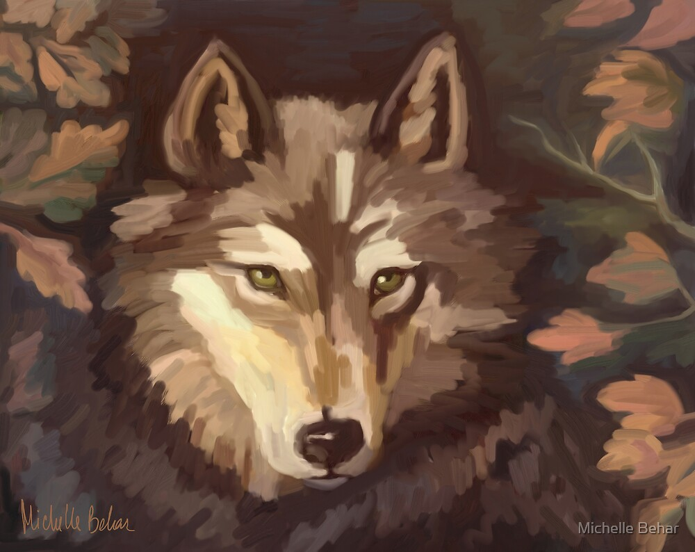 Lonely Wolf by Michelle Behar