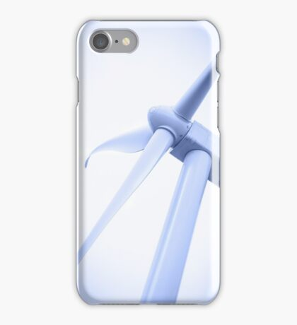 Electricity generating windmill. iPhone Case/Skin