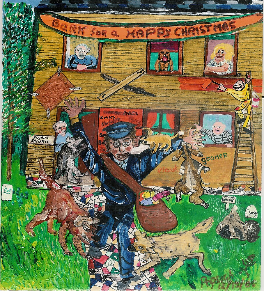 Bark for a Happy Christmas. by Frank Maguire