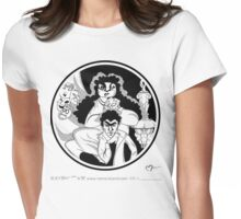 ALLEGORY & SELF Womens Fitted T-Shirt