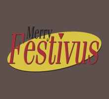 merry festivus (red) One Piece - Short Sleeve