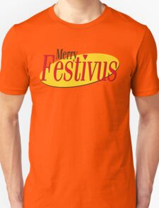merry festivus (red) Unisex T-Shirt
