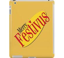 merry festivus (red) iPad Case/Skin