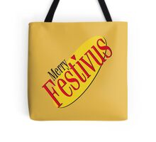 merry festivus (red) Tote Bag