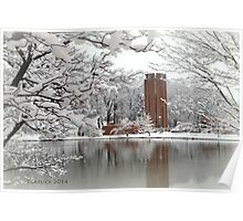 Winter at Penn State Altoona Poster