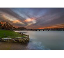Fishbourne Sunset Photographic Print