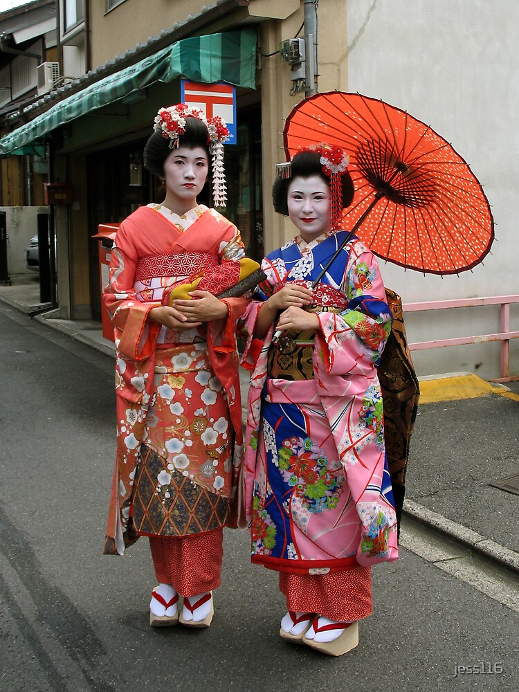 Geisha in Kyoto by jess116