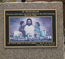 A plaque dedicated to the 19 innocent babies who lost their lives that horrible day by VCorb0328