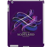 Pride of Scotland Tartan Twist iPad Case/Skin