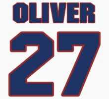 Basketball player Jimmy Oliver jersey 27 by imsport