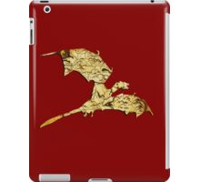 Elder Scrolls Skyrim Map in Dragon Cut-Out iPad Case/Skin