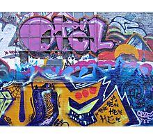 Graffiti in Freetown Christiania Copenhagen Denmark Photographic Print