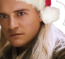 Santa's Favourite Elf - Legolas Sticker