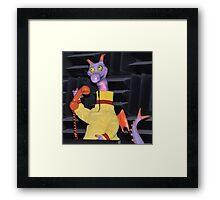 Disney Figment Disney Dreamfinder Disney Figment Dreamfinder Framed Print
