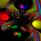 Fractal Art #013 by Curtis Bard