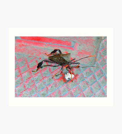 Ugly Bug Art Print