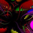 Fractal Art #014 by Curtis Bard