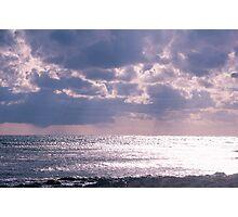 Glistening sea. Photographic Print