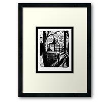 Derelict Farm Framed Print
