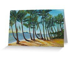 ellis beach Greeting Card