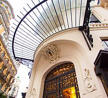 |||  glass canopy ||| gran via ||| madrid by terezadelpilar~ art & architecture