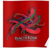 MacIntosh Tartan Twist Poster