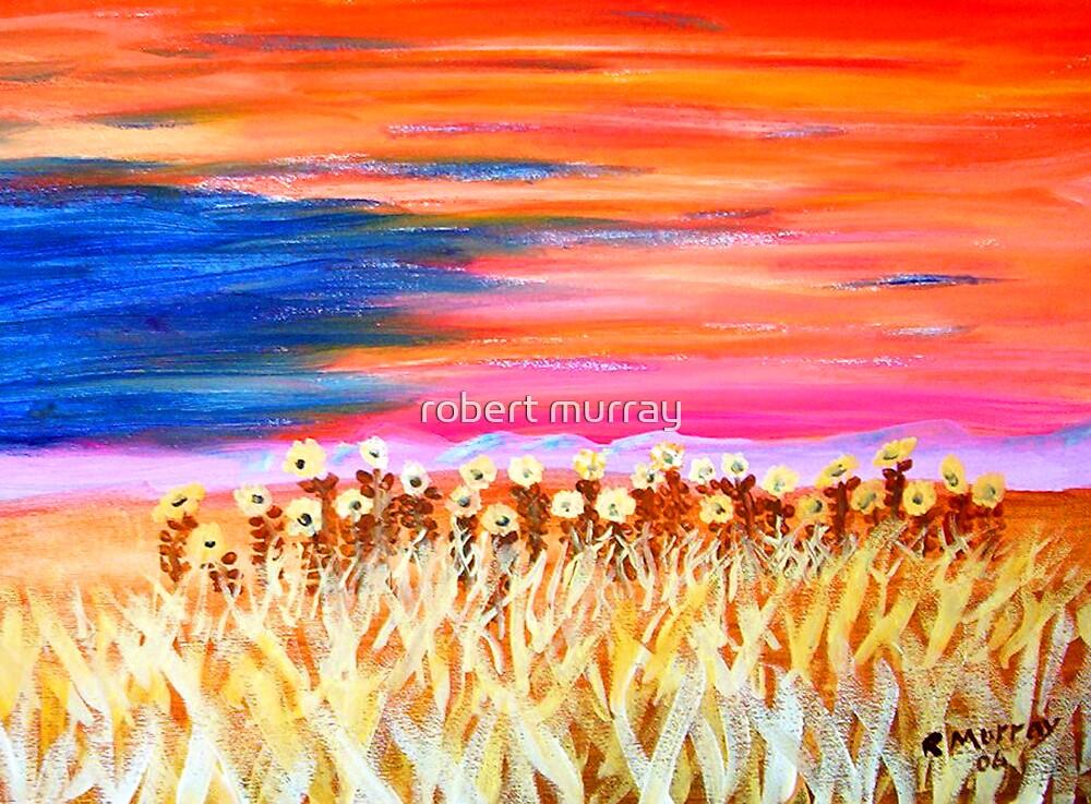 sunflower field by robert murray