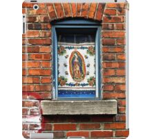 Our Lady of the Window iPad Case/Skin