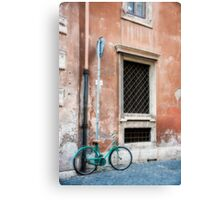 Finding Parking in Rome Canvas Print
