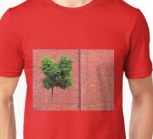 Red Bricks on a wall Unisex T-Shirt